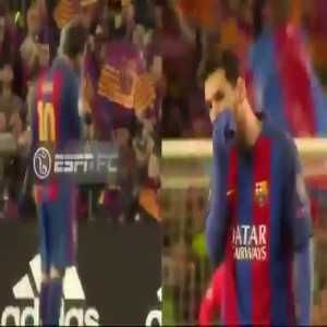 Chiellini and Bonucci in a friendly fight over who would take Messi's shirt