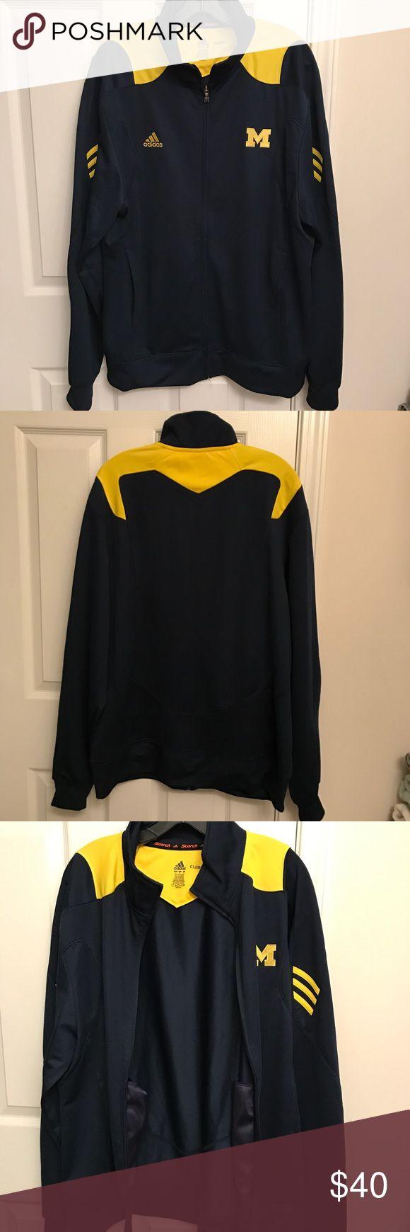 Adidas MICHIGAN Climalite Men's Lightweight Jacket NWOT Adidas MICHIGAN Climalite Men's Lightweight Jacket. From no pets & non smoker home. Adidas Jackets & Coats Lightweight & Shirt Jackets