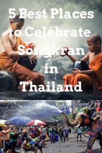 Top 5 best places to celebrate songkran in thailand