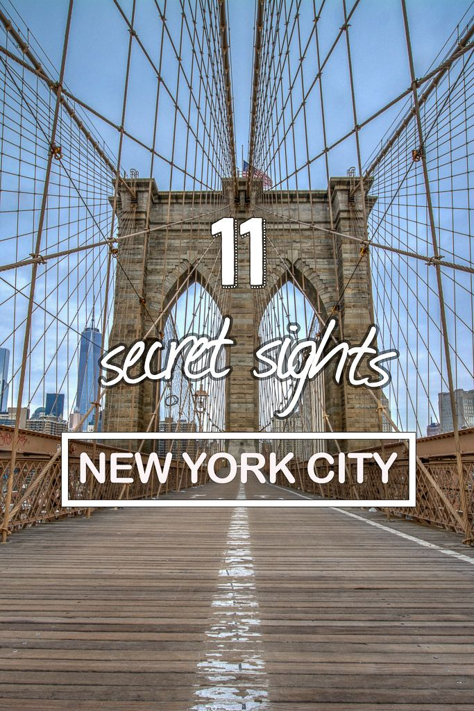 11 New York secret sights! NYC hidden gems to explore!