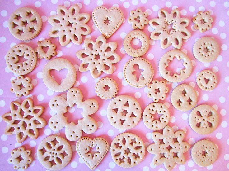 Recetas de galletas de encaje o doily biscuits