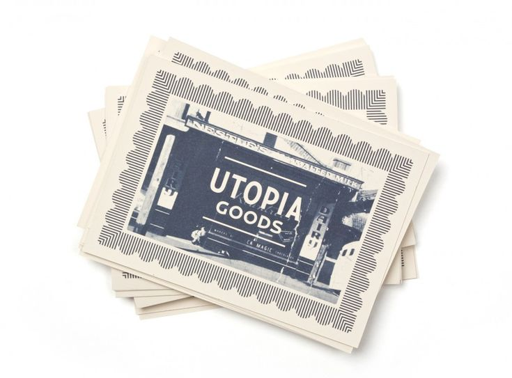 Utopia Goods — Deuce Design