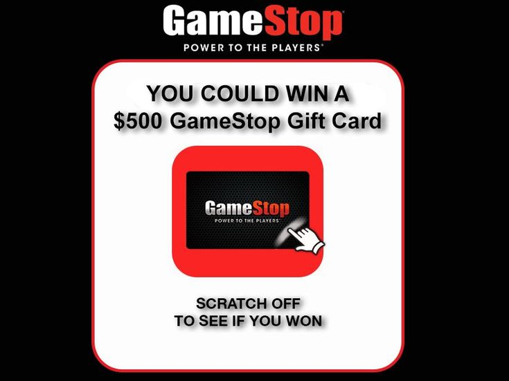Enter the gamestop powerup rewards instant win game for