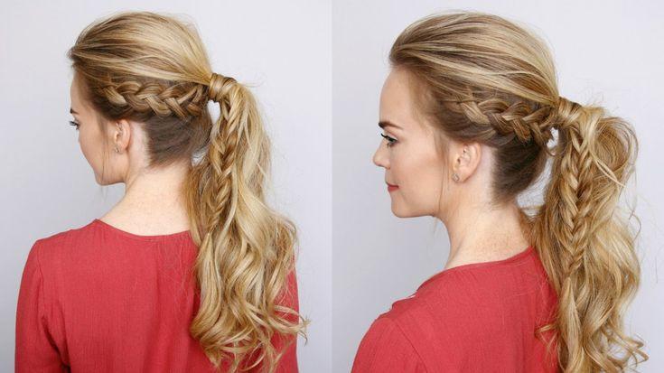 Dutch Braid Fishtail Ponytail | Missy Sue - Love Missy Sue hair tutorials!