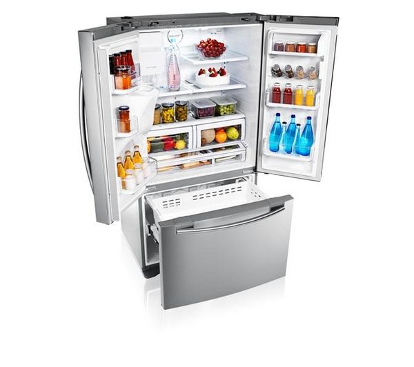 Buy SAMSUNG RFG23UERS AmericanStyle Fridge Freezer