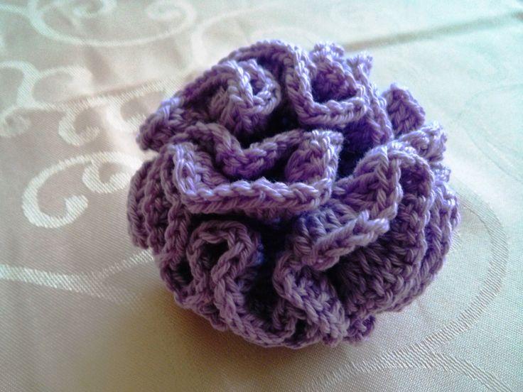 Crochet flower 25 Flower ball