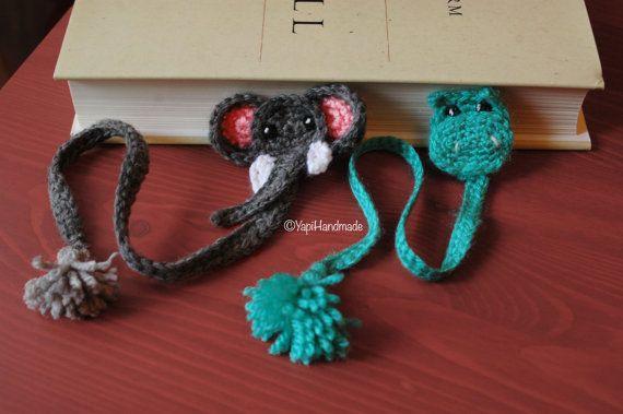 Crocheted Bookmarks di YapiHandmade su Etsy