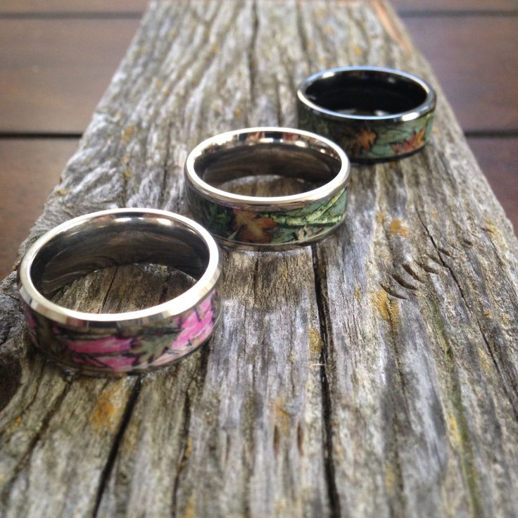 Get a top rated rings today from ONE CAMO! Make your hunter complete with our camouflage wedding rings https://1CAMO.com