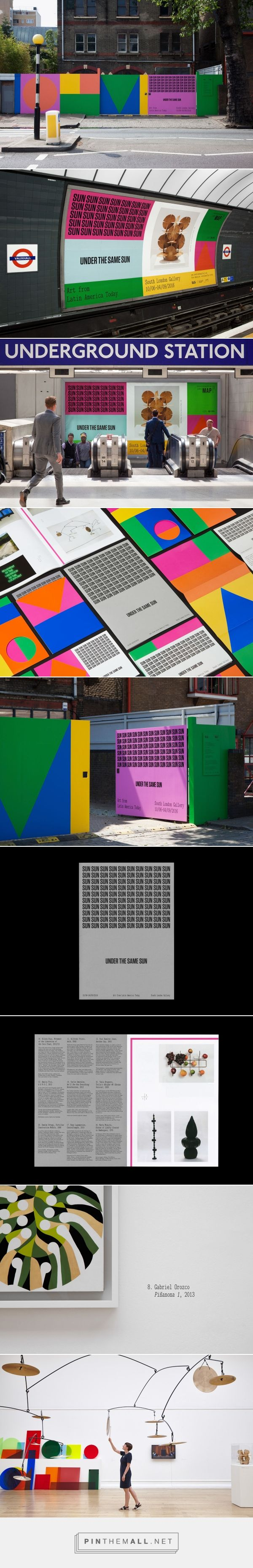 OK-RM combines concrete poetry and bold colours for Under the Same Sun – Creative Review - created via https://pinthemall.net
