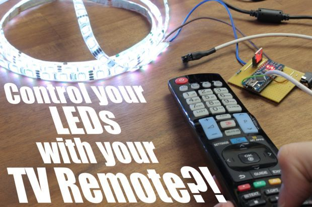 Picture of Control your LEDs with your TV remote?! || Arduino IR Tutorial
