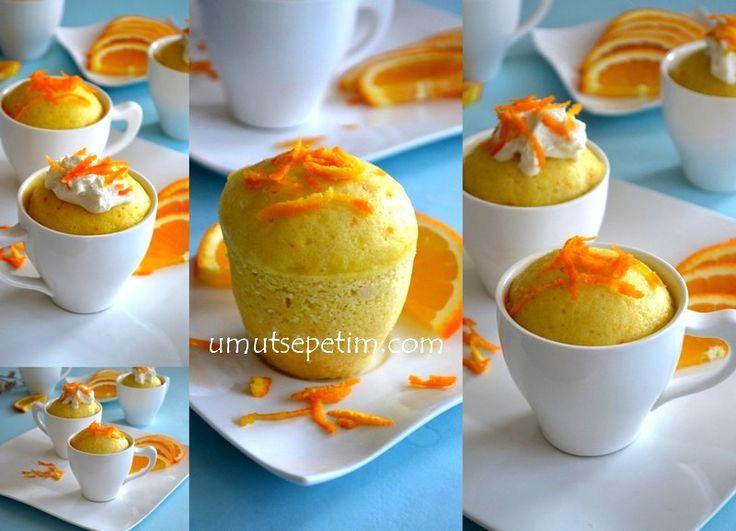 Portakallı Fincan Kek Tarifi ( Tencere Keki)