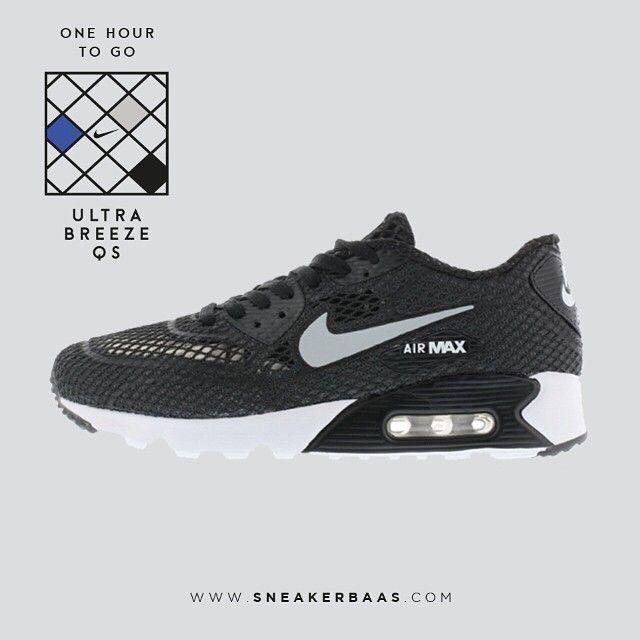 #nike #nikeam90 #nikeultrabreeze #airmax #nikeair #sneakerbaas #baasbovenbaas  Nike Air Max 90 Ultra Breeze QS pack - One hour to go!