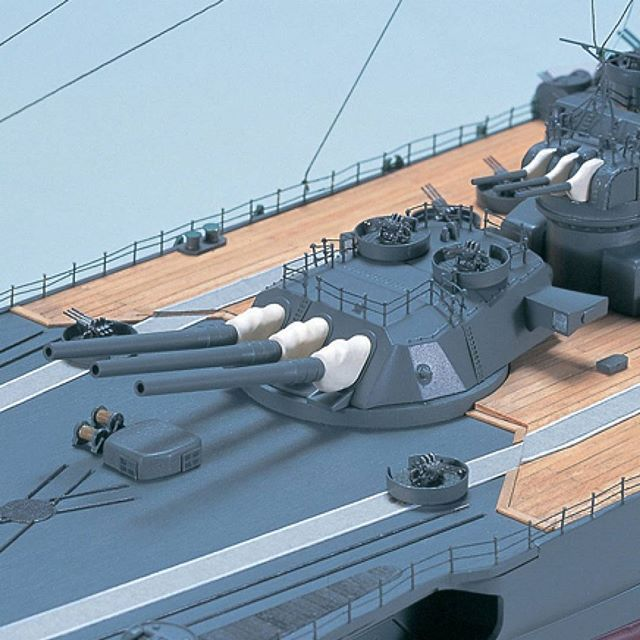 The Yamato, along with her sister ship Musashi, were the largest battleships ever built in history.