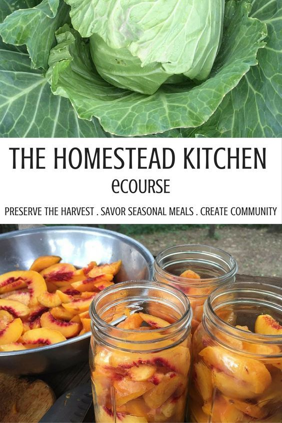 The Homestead Kitchen, a ten module, self-paced eCourse that will help you source, preserve, and prepare seasonal, local meals that start in the garden, market, freezer, and pantry.   Whether your homestead is an urban apartment, or off the grid acreage, you will find information and inspiration that will transform the way you experience food.