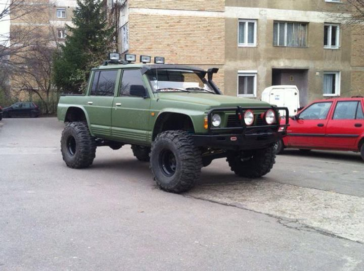 Y60 green pick up