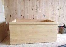 檜風呂 木風呂 箱型浴槽 檜風呂の田島産業 浴槽 風呂 バスルーム