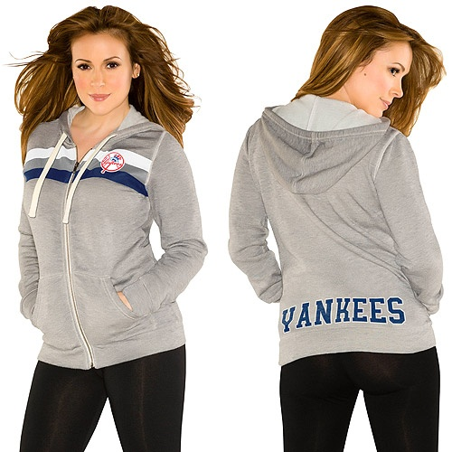 Touch by Alyssa Milano New York Yankees Track & Field Hoody