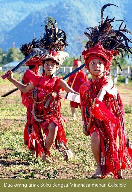 Cakalele traditional dance