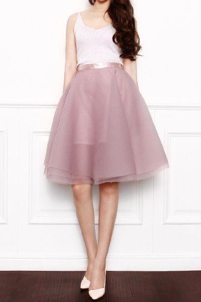 Amazing Layers Organza Full Skirt : The Art of Vintage-inspired & Cute Women's Clothing | Larmoni
