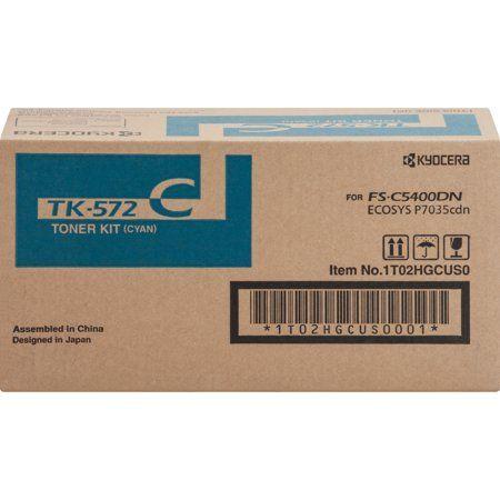 Kyocera, KYOTK572C, 5400/7035 Toner Cartridge, 1 E…