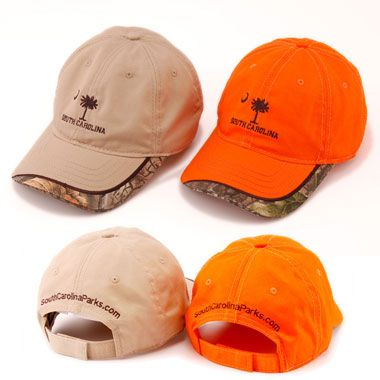 Get your SC camo-trimmed baseball cap!  Great for the outdoorsman in your life.  #scstateparks