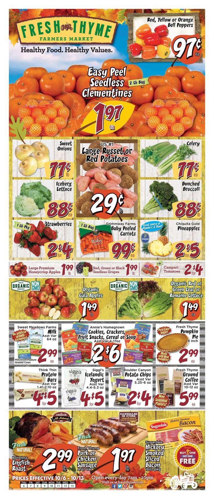 Weekly Ads | Fresh Thyme Farmer's Market