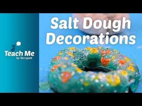 Teach Me: Salt Dough Decorations - YouTube