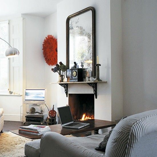 Cosy Living Room | Take A Tour Around An Eclectic Victorian Terrace |  Housetohome.co Part 97