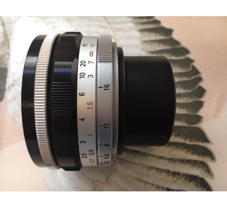 Canon 19mm f/3.5 Super Wide Lens Leica L39 Screw Mount  Rare Find