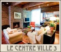 Fabulous downtown Montreal Quebec furnished accommodation. Great vacation rentals.
