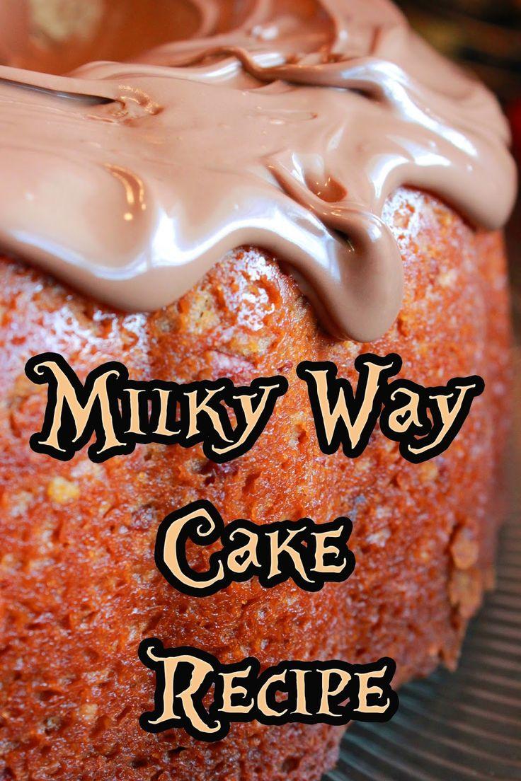The Disney Diner: Milky Way Cake Recipe from Beaches & Cream (Disney's Beach Club Resort)