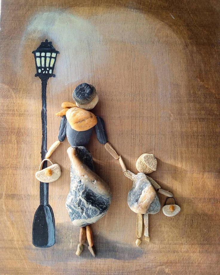 2 отметок «Нравится», 1 комментариев — Szilajka Erzsébet (@stone.pebble.art) в Instagram: «www.facebook.com/kavicsmuvesz #stoneart #stone #pebble #pebbleart»