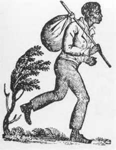"""Tice Davids, a runaway slave from Kentucky, was the inspiration for the first usage of the term """"Underground Railroad."""" When he swam across the Ohio River to freedom, his former owner assumed he'd drowned and told the local paper if Davids had escaped, he must have traveled on """"an underground railroad."""" (Davids actually made it alive and well.)"""