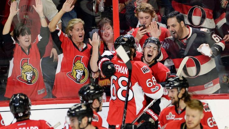 Pageau gets the fourth goal in 2OT Lift sens over Rangers 6-5