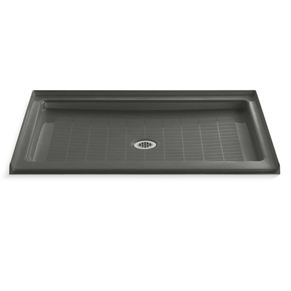 Purist 48 X 36 Single Threshold Center Drain Shower Base