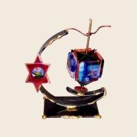 Copper Star Dreidel