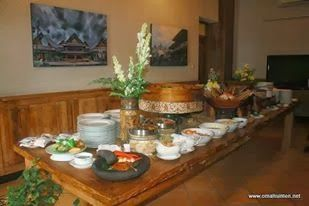 qinkqonk's Portfolio: Buffet Decoration
