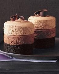 triple choc mouse cake