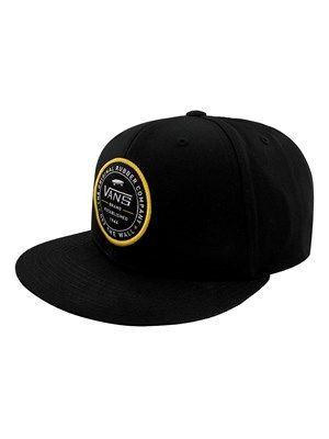 Keep it classic with Vans. This black snapback hat stays true to the Vans  Off f9c8bed5f93