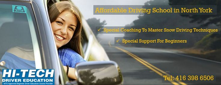 Best #DrivingSchool in #NorthYork teach driving lessons to increase the car driving skill in a person.