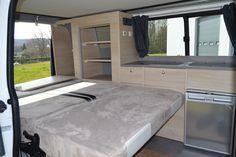 Trafic Renault aménagé : aménagement Nomad 4 places - West Campe