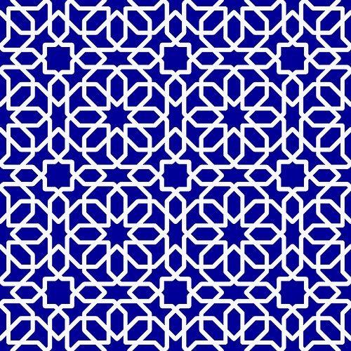 Oriental pattern.