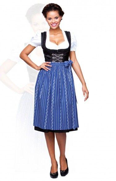 Oktoberfest dirndl apron SC195 - royale midi