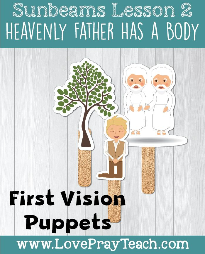 Primary 1 Sunbeams Lesson 2 Heavenly Father Has A Body