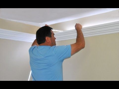 Install Indirect lighting in crown molding by Creative Crown - YouTube
