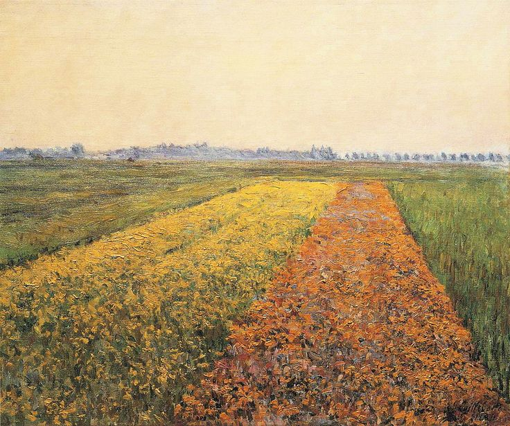 Gustave Caillebotte - The Yellow Fields at Gennevilliers - Gustave Caillebotte - Wikipedia