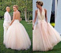32 best wedding dresses images on pinterest weddings for Portia de rossi wedding dress