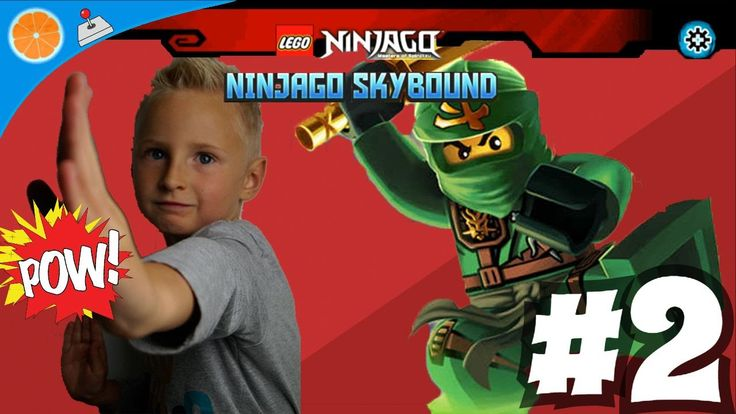 Lego NinjaGo Skybound level 2 Android iOS free games for kids Blue Orange
