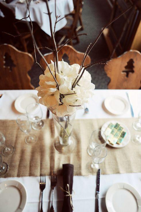 Diy rustic chic wedding by carissa christine photography
