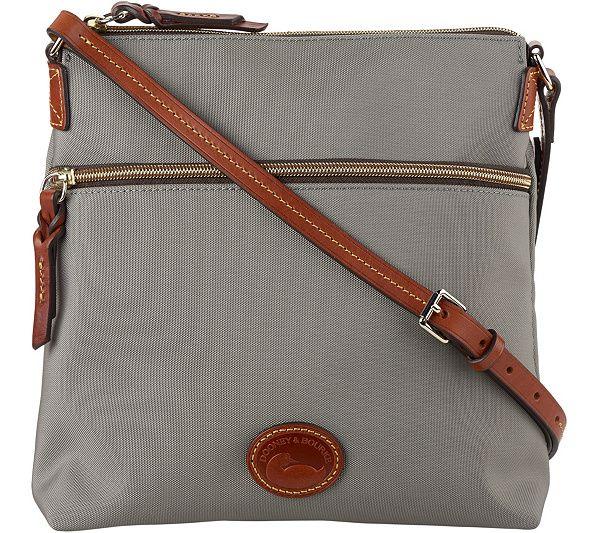 629dc93b9c8 Dooney   Bourke Nylon Crossbody Handbag - Page 1 — QVC.com